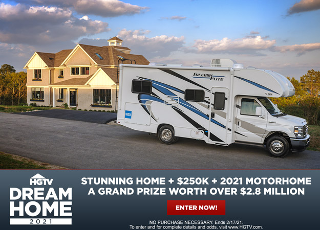 HGTV Dream Home 2021 Enter for your chance to win the $2.8 million grand prize!